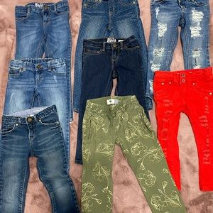 🔥 Girl Jean bundle , size 4T